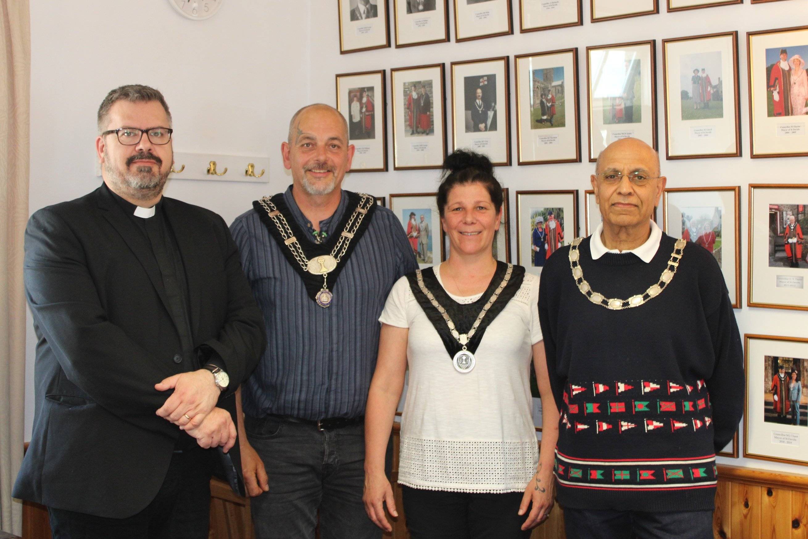 Appointment of Mayor and Mayoress of St Davids