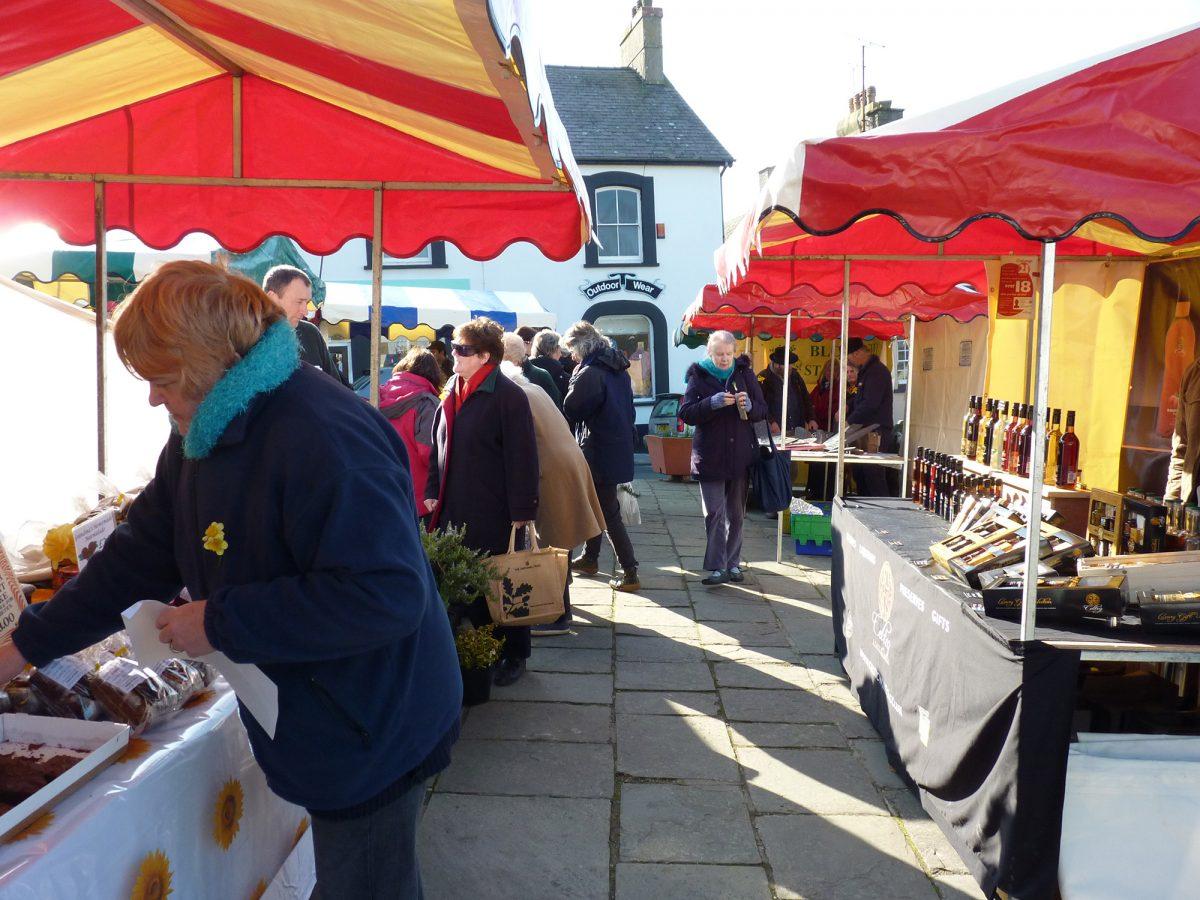 St Davids Outdoor Market re-opens!