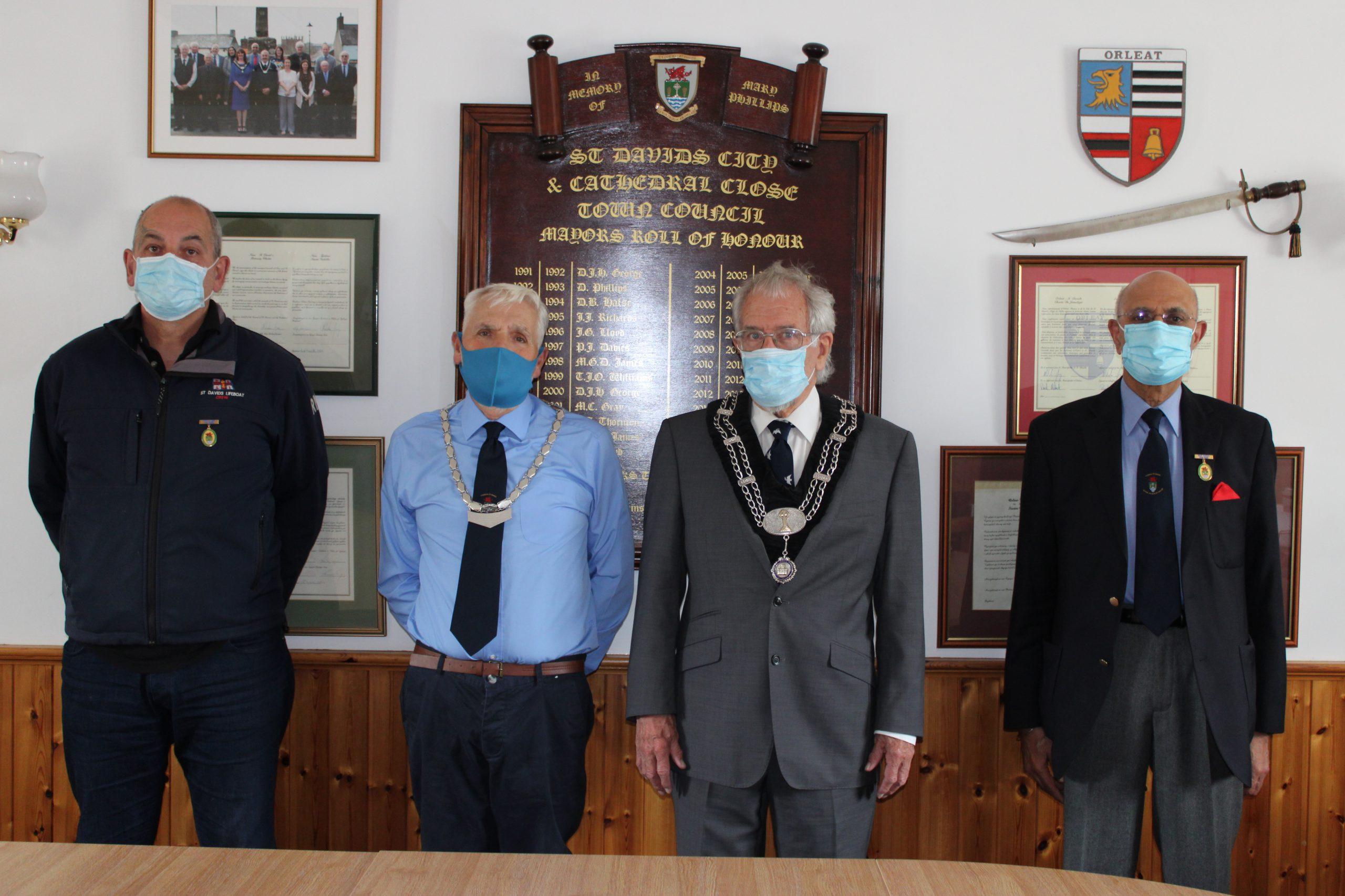 Election of Mayor and Deputy Mayor